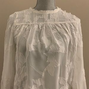 White Wilfred blouse